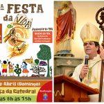 2ª Festa da Vida acontece neste domingo (08) em Juazeiro. Confira o convite de Dom Beto Breis