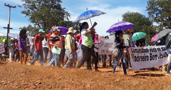 Paróquia de Campo Alegre de Lourdes realiza VIII Romaria em Defesa da Vida contra a mineração