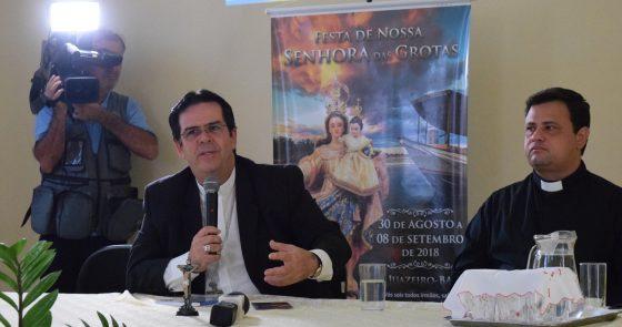 Diocese lança Festa de N. Sra. das Grotas e publica novo decreto sobre Regularização Fundiária