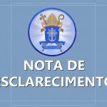 Diocese divulga Nota de Esclarecimento sobre Empreendimento Imobiliário Auto Juazeiro