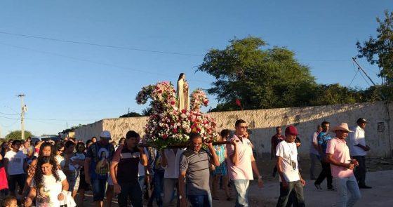Setor Pastoral de Carnaíba do Sertão celebrou sua padroeira neste domingo (26)