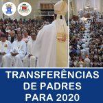 Anunciadas as Transferências de padres para 2020 na Diocese de Juazeiro