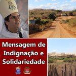 """Bispo da Diocese de Juazeiro emite """"Mensagem de Indignação e Solidariedade"""" sobre comunidades atingidas por mineradora em Campo Alegre de Lourdes/BA"""