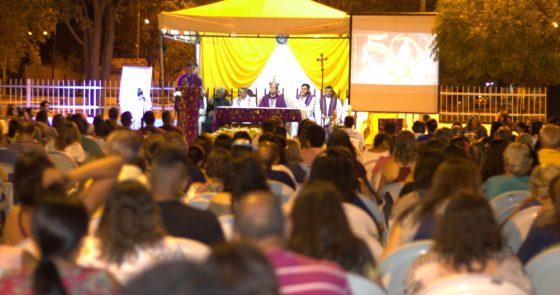 Paróquia Sto.  Afonso, em Juazeiro, celebra Jubileu de 50 anos em clima de festa e gratidão