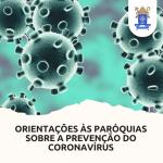 Diocese publica orientações para prevenção contra o novo Coronavirus nas celebrações