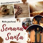 Dom Beto Breis publica Orientações para a Semana Santa em nossa Diocese