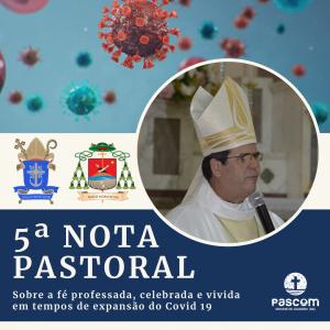 Dom Beto Breis publica 5ª Nota Pastoral e decide manter celebrações sem presença de fiéis na Diocese de Juazeiro