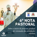 Diocese de Juazeiro define que igrejas podem voltar a abrir gradualmente para fiéis a partir de 16 de agosto