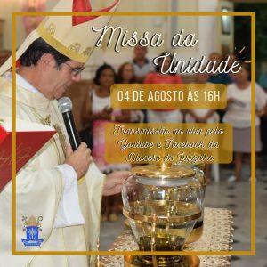 Missa da unidade: Padres da Diocese de Juazeiro (BA) renovarão promessas sacerdotais nesta terça (04)