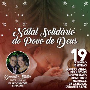 """Diocese promove """"Natal Solidário do Povo de Deus"""" no mês de dezembro"""