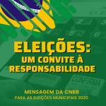CNBB emite Mensagem por ocasião das Eleições Municipais 2020